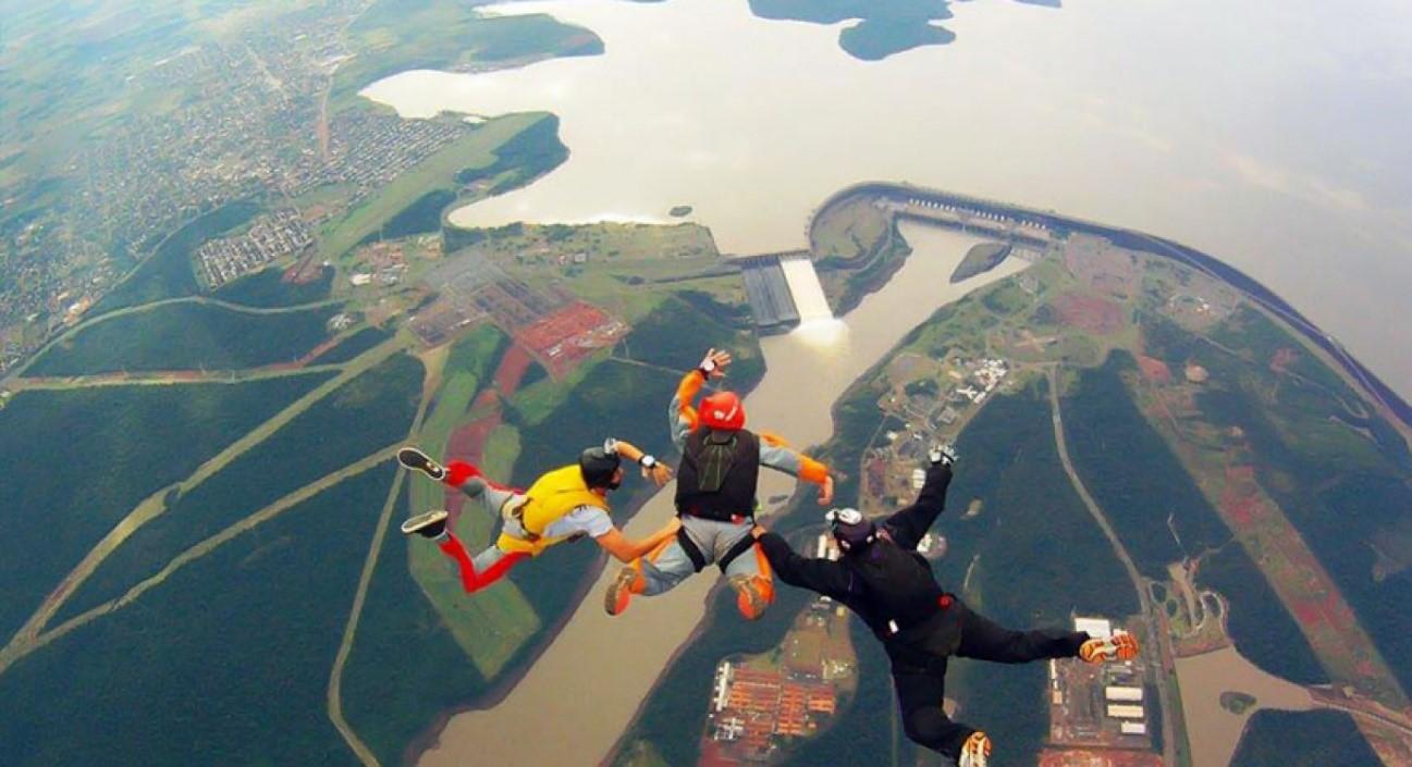 Skydive Foz do Iguçu