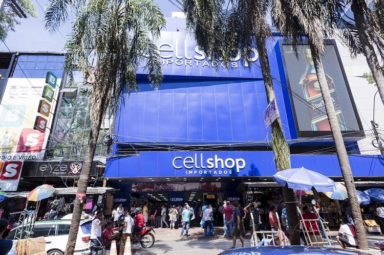 CellShop - Ciudad Del Este – PY - Após a Ponte da Amizade