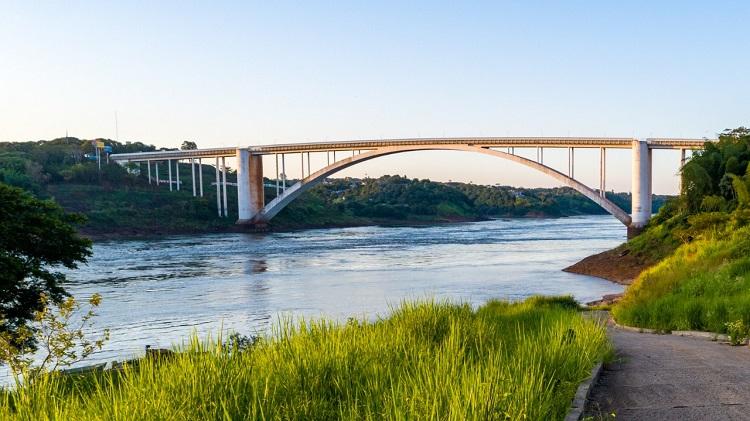 Ponte da Amizade  - Ciudad Del Este - Vista de cima