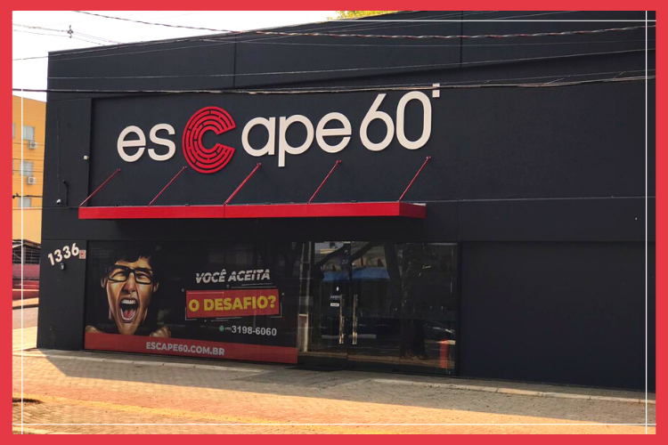 Fachada do Escape60