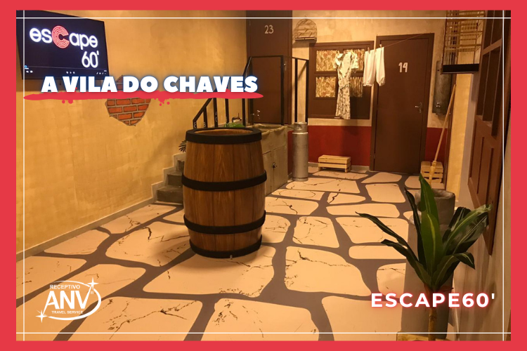 A Vila do Chaves no Escape60 em Foz do Iguaçu