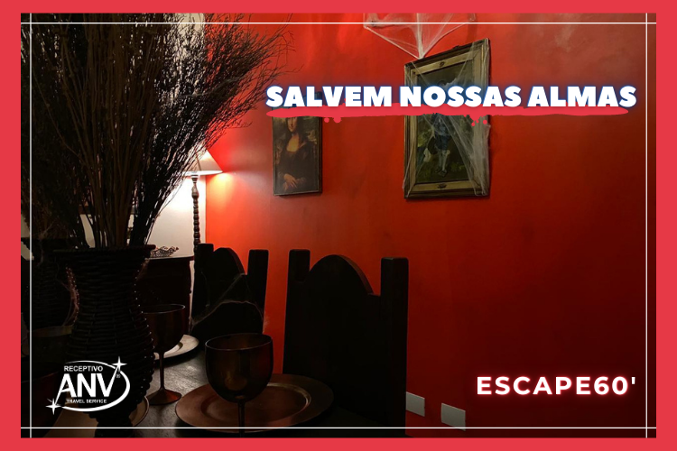 Salvem Nossas Almas no Escape60 em foz do iguaçu