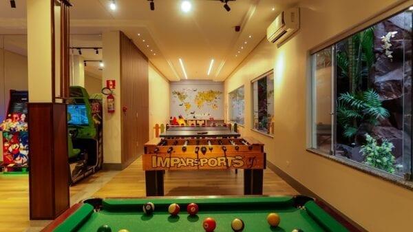 Tarobá Hotel - Jogos