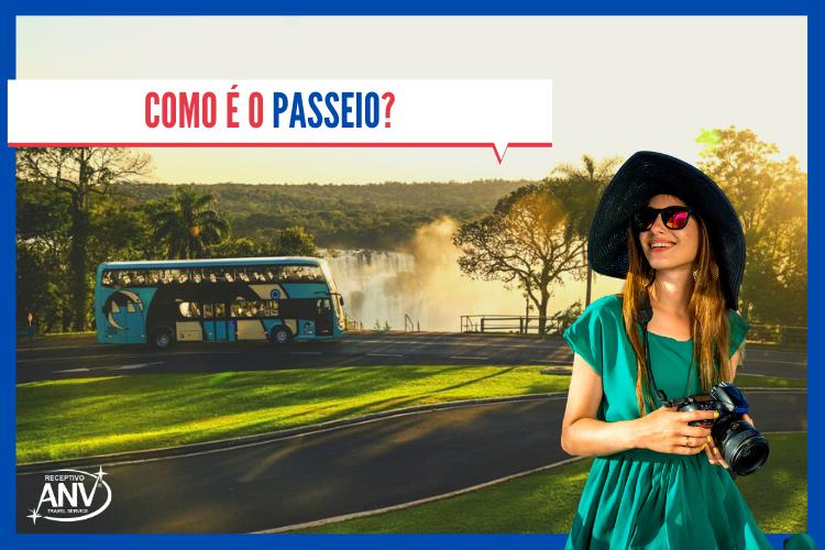 Como é o passeio? | Parque Nacional - Cataratas do Iguaçu