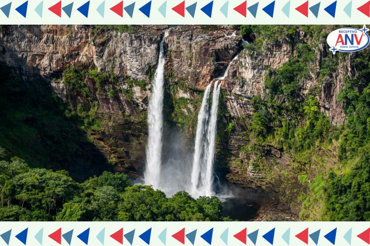 Cachoeira - Chapada dos Veadeiros - Goiás | 10 viagens baratas no Brasil