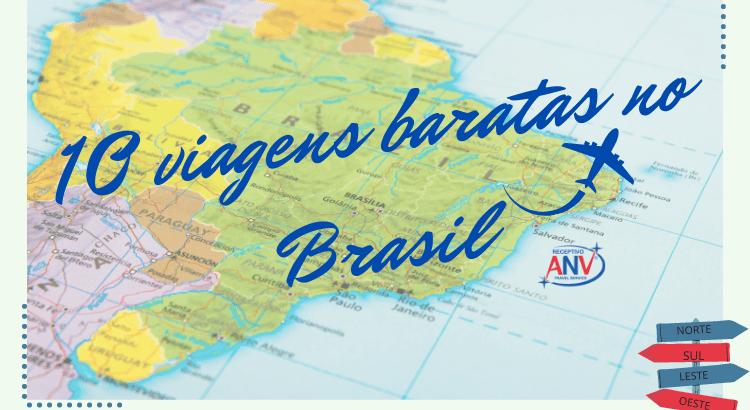 10 viagens baratas no Brasil | Confira!