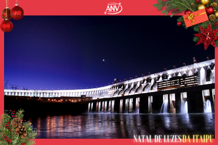 Natal de Luzes da Itaipu Iluminada