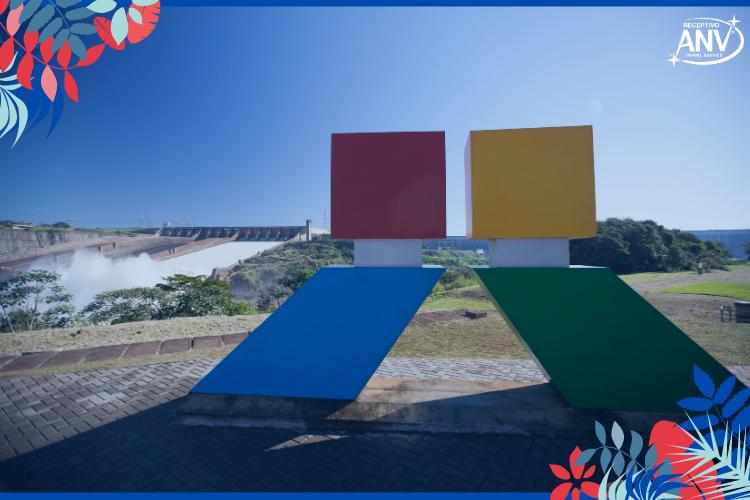 Itaipu Binacional | Foto: Rafael Bechlin | Turismo: Itaipu Binacional fecha 2020 com números positivos
