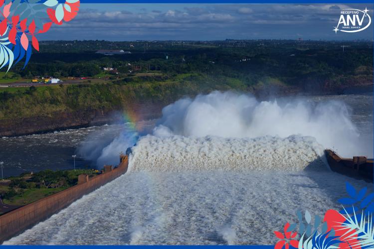 Vertedouro de Itaipu | Foto: Alexandre Marchetti | Turismo: Itaipu Binacional fecha 2020 com números positivos