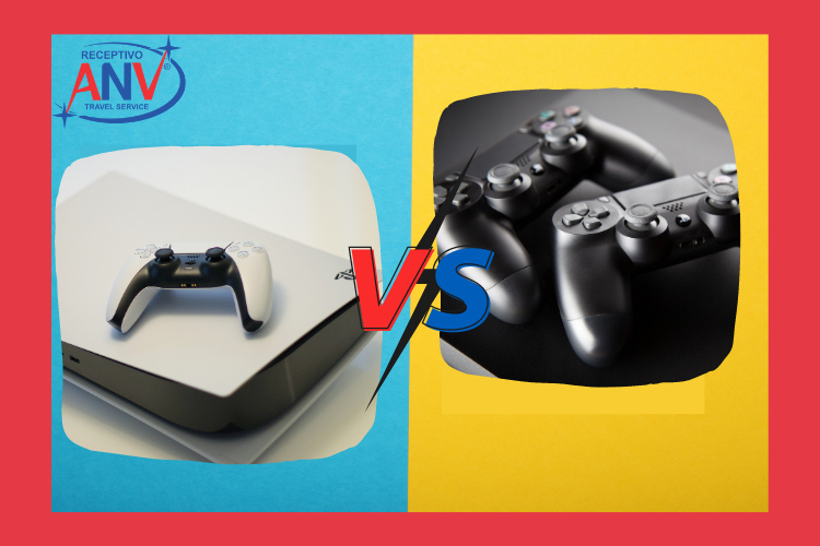 PS5 versus PS4. PS5 Paraguai  Novidades do  console e onde  comprar