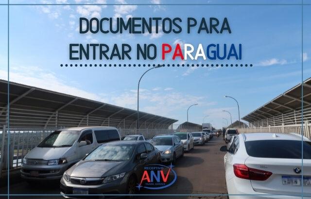 documentos para entrar no paraguai